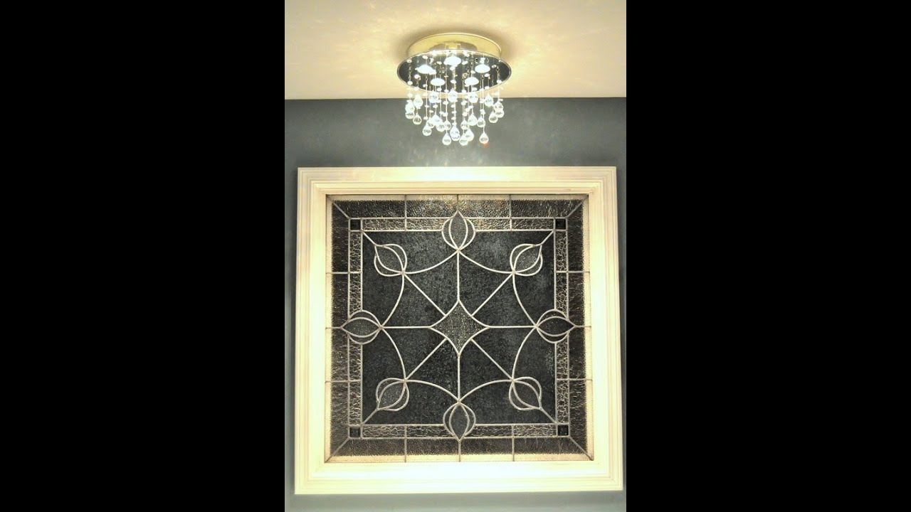 How to replace recessed light with a ceiling fixture - YouTube