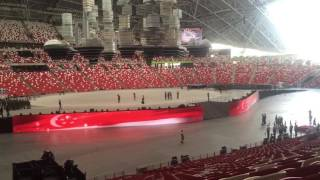 NDP 2016 -  NE1 Contingent March In  ( Rehearsal )