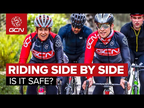 Cycling Side By Side - Is It Legal? Is It Safe?