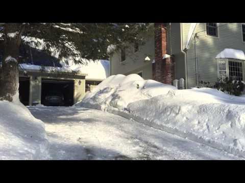 Snowmageddon 2015 - North Andover, MA
