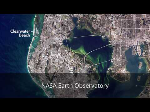 NASA Earth Observatory, Beach, USA
