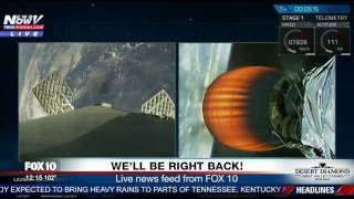 WATCH:  SpaceX Launch And Landing Of Recycled Falcon 9 Rocket (FNN)