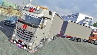 Mercedes MP4 Tandem ETS2 (Euro Truck Simulator 2)
