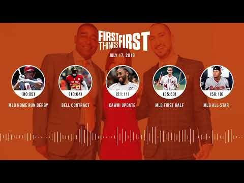 First Things First audio podcast(7.17.18) Cris Carter, Nick Wright, Jenna Wolfe | FIRST THINGS FIRST