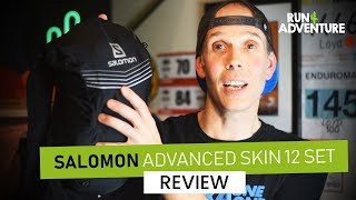 Salomon Advanced Skin 12 Set Running Pack REVIEW | Run4Adventure