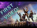 My First Video! (Fortnite Battle Royale)