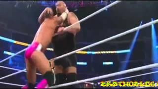 CM Punk VS Big Show VS John Cena Highlights Summerslam 2012 |HD]