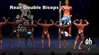 Mens Bodybuilding Mandatory Pose Guidelines - INBF & WNBF