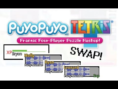 Puyo Tetris Swap with Friends! - Joined Your Party!