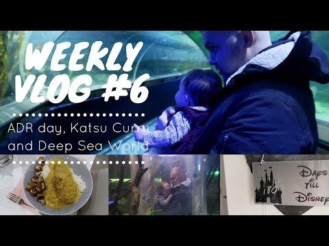 Weekly Vlog #6| Disney Sprengs | ADR day, Katsu Curry and Deep Sea World