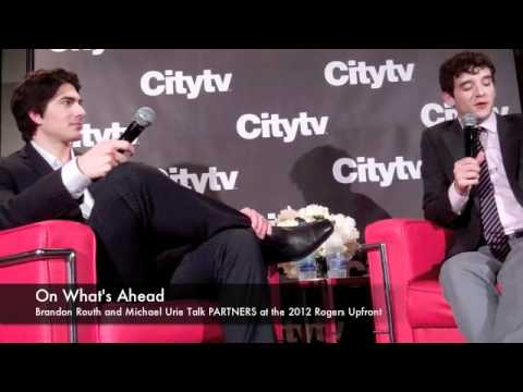 Brandon Routh and Michael Urie Talk PARTNERS