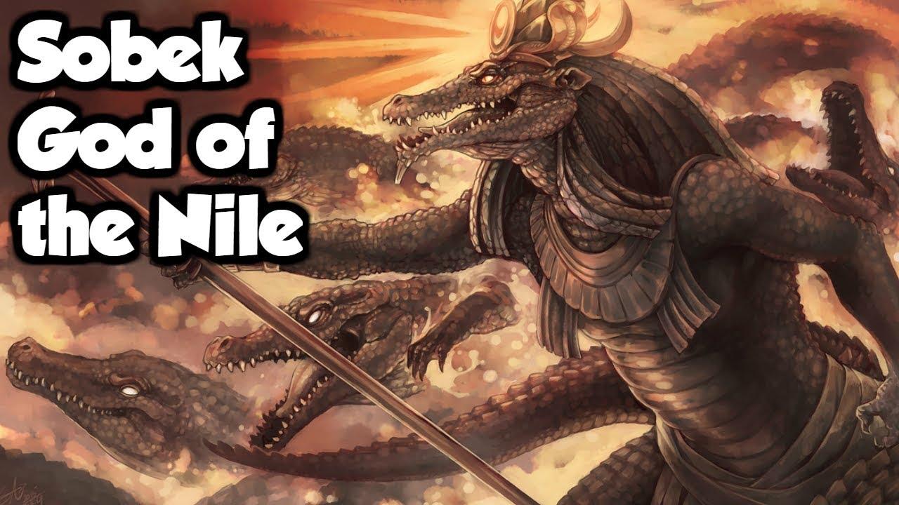 Image result for sobek god of the nile