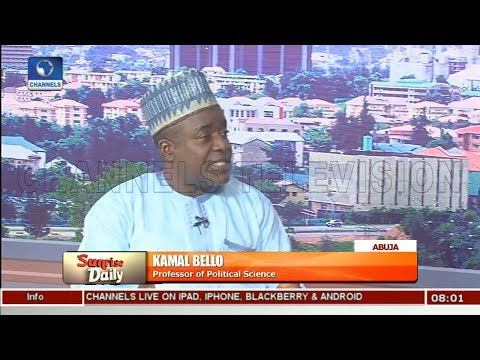 Mace Theft: Why Political Elites Are Working Against Change In Nigeria-- Bello Pt.1 |Sunrise Daily|