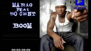 Download mario feat 50cent ''Boom'' MP3 song and Music Video