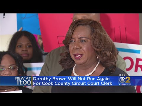 Cook County Circuit Court Clerk Dorothy Brown Will Not Seek Re-Election