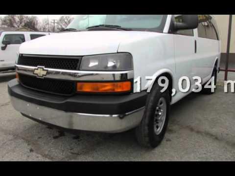 2008 Chevrolet Express Ls 3500 Passenger Van For Sale In