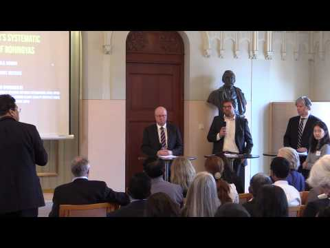 Policy Debate between Norwegian State Secretary Morten Høglund and an MP, Oslo Conference