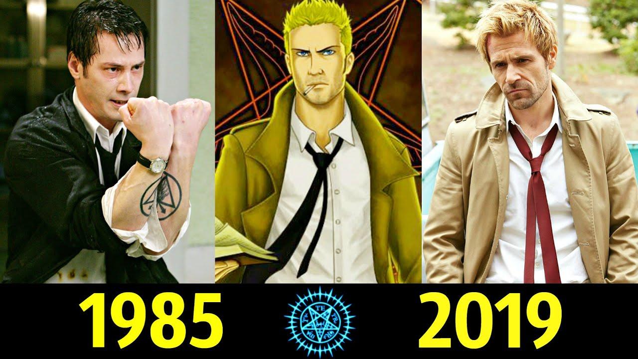 😈 Джон Константин - Эволюция (1985 - 2019) ! Все Появления 🔥!