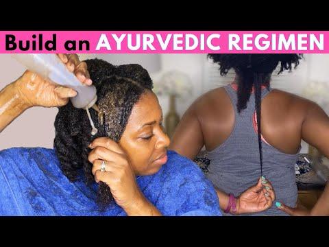 Ayurvedic Natural Hair Regimen for Growth | Use this regimen once a week for EXTREME hair growth!