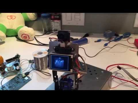 Active computer vision on the arduino