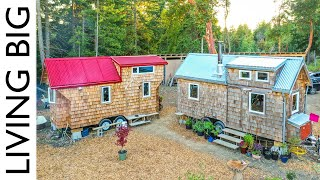 Double Tiny Homes For Family Homestead  Revisited