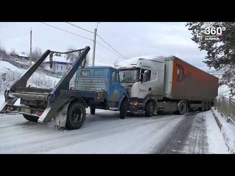 Из-за мокрого снега в Белорецком районе произошло несколько ДТП