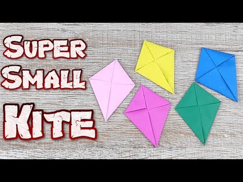 Origami Kite Flicker | How to Super Sonic Kite Flying Flicker Paper Tutorials | DIY Small Kite