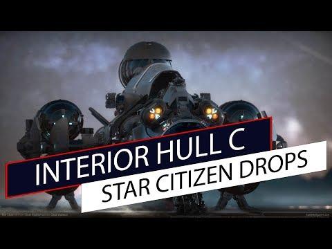 Star Citizen Drops - Interior da Hull C
