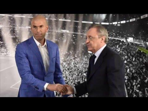 L'actu du foot ( Zidane entraineur du Real) 1/4.