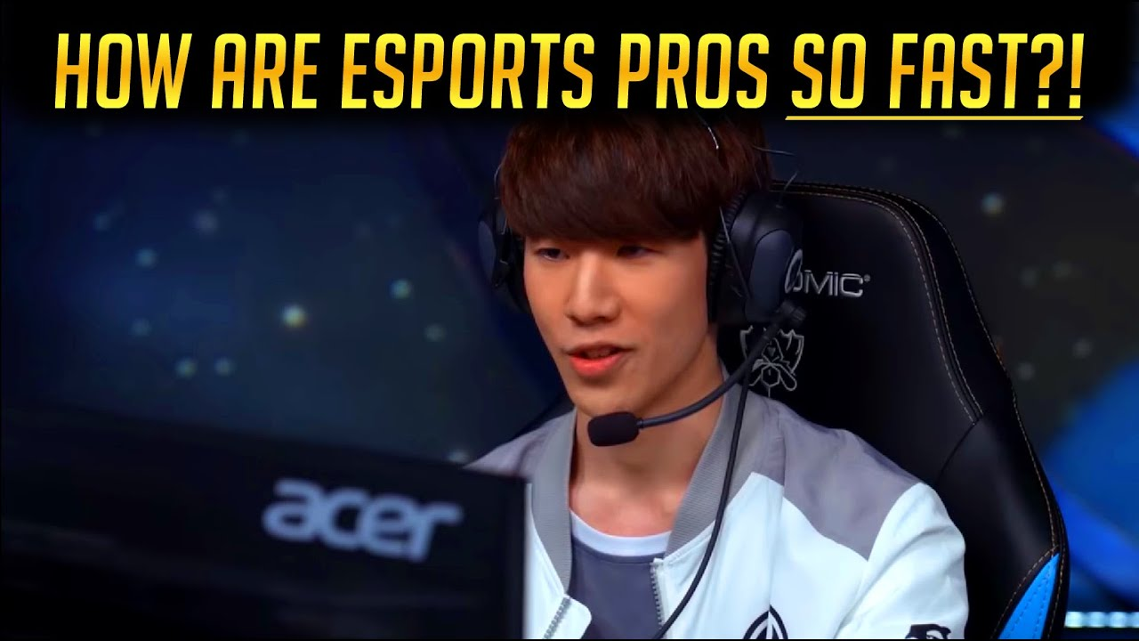 HOW ARE ESPORTS PLAYERS SO FAST? The Brain Science of Pro Gaming