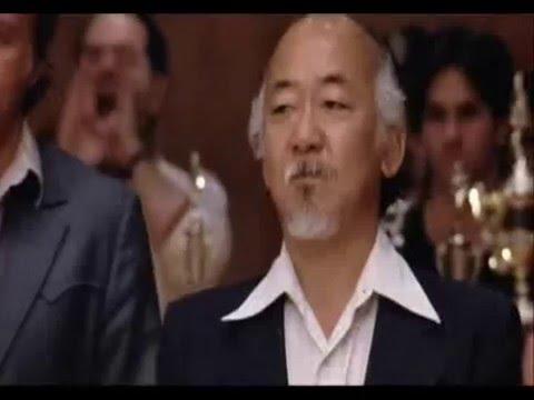 Тренировки Дрея из фильмаКаратэ-пацан