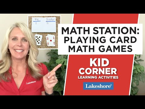 Math Station: Playing Card Math Games