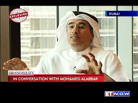 Brand equity in conversation with mohamed alabbar chairman emaar properties