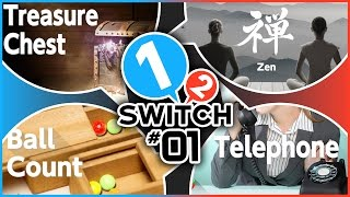 1-2-Switch Part 1 | Telephone, Ball Count, Zen, & Treasure Chest Gameplay!