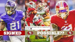 LIVE! NFL Free Agency 2018 Day 3 | 49ers Sign Former Vikings RB Jerick McKinnon, Who's Next?
