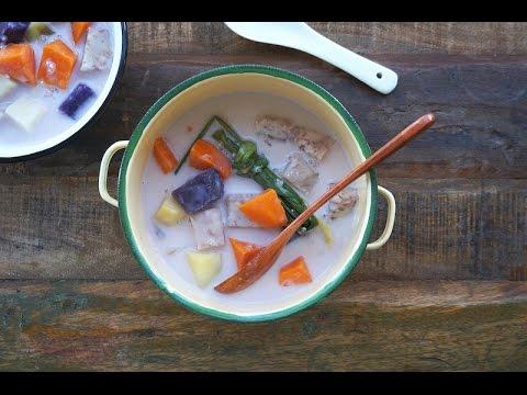 Bubur Cha Cha~ Sweet Potato And Yam Pudding