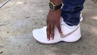 paul george summer time nike pg1 on feet review