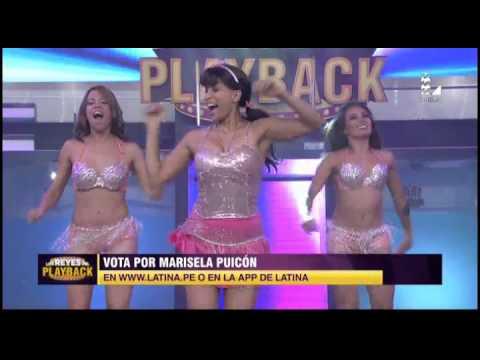 Marisela Puicón nos recordó a las Vírgenes de la Cumbia en su † playback †