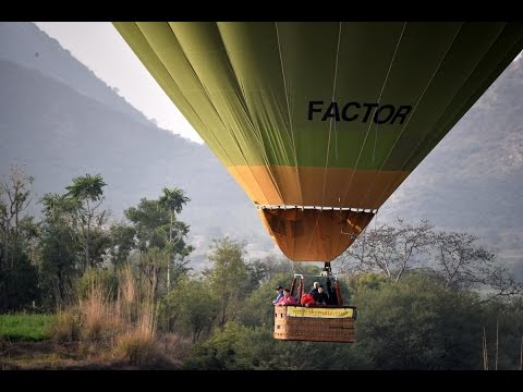 Trip 2015 - Balloon Ride Over Jaipur Countryside in Rajasthan, India