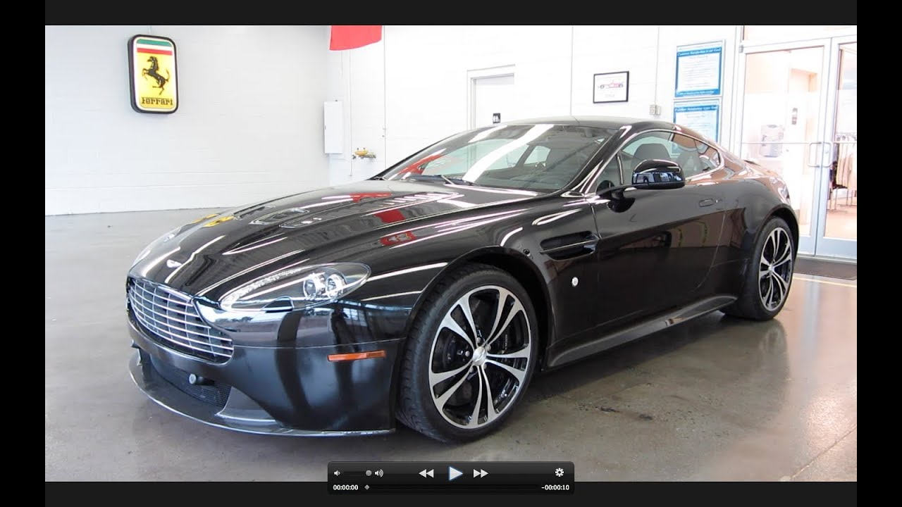 aston martin vanquish 2011. 2011 aston martin v12 vantage carbon black edition start up exhaust and in depth tour youtube vanquish