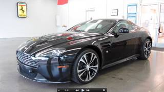 2011 Aston Martin V12 Vantage Carbon Black Edition Start Up, Exhaust, and In Depth Tour