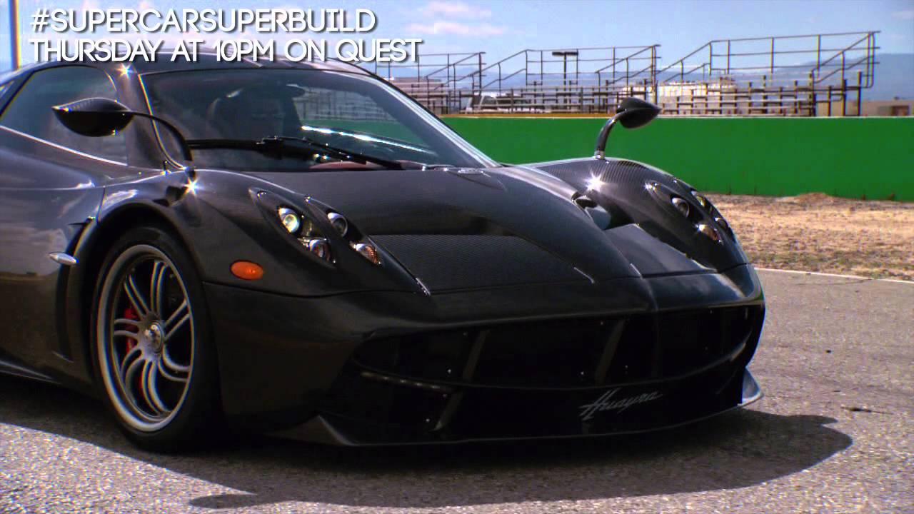 Supercar Superbuild Pagani Huayra Teaser Youtube