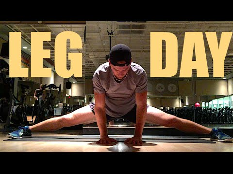 LEG WORKOUT - INCREASE MUSCLE & FLEXIBILITY!