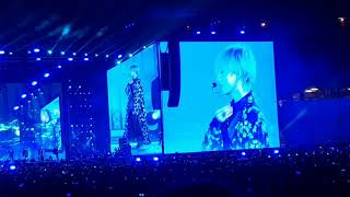[FANCAM] BTS V 'Singularity' LIVE LOVE YOURSELF TOUR IN SINGAPORE