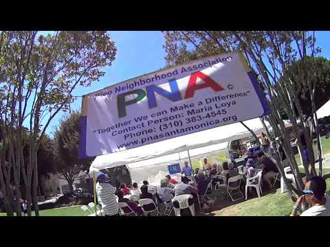 Santa Monica's New City Manager/Pico Neighborhood Association/Virgina Park