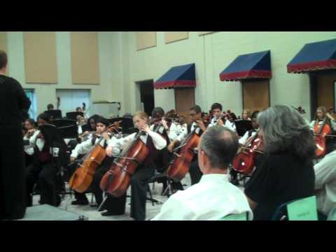 Alton C. Crews Middle School - 8th Grade Orchestra - M to the Third Power