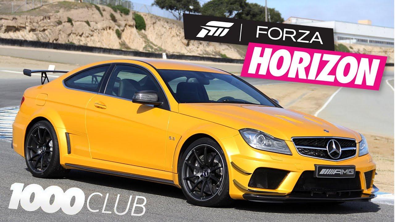 20 Forza Horizon 1000 Club Mercedes C63 AMG Black Series PL