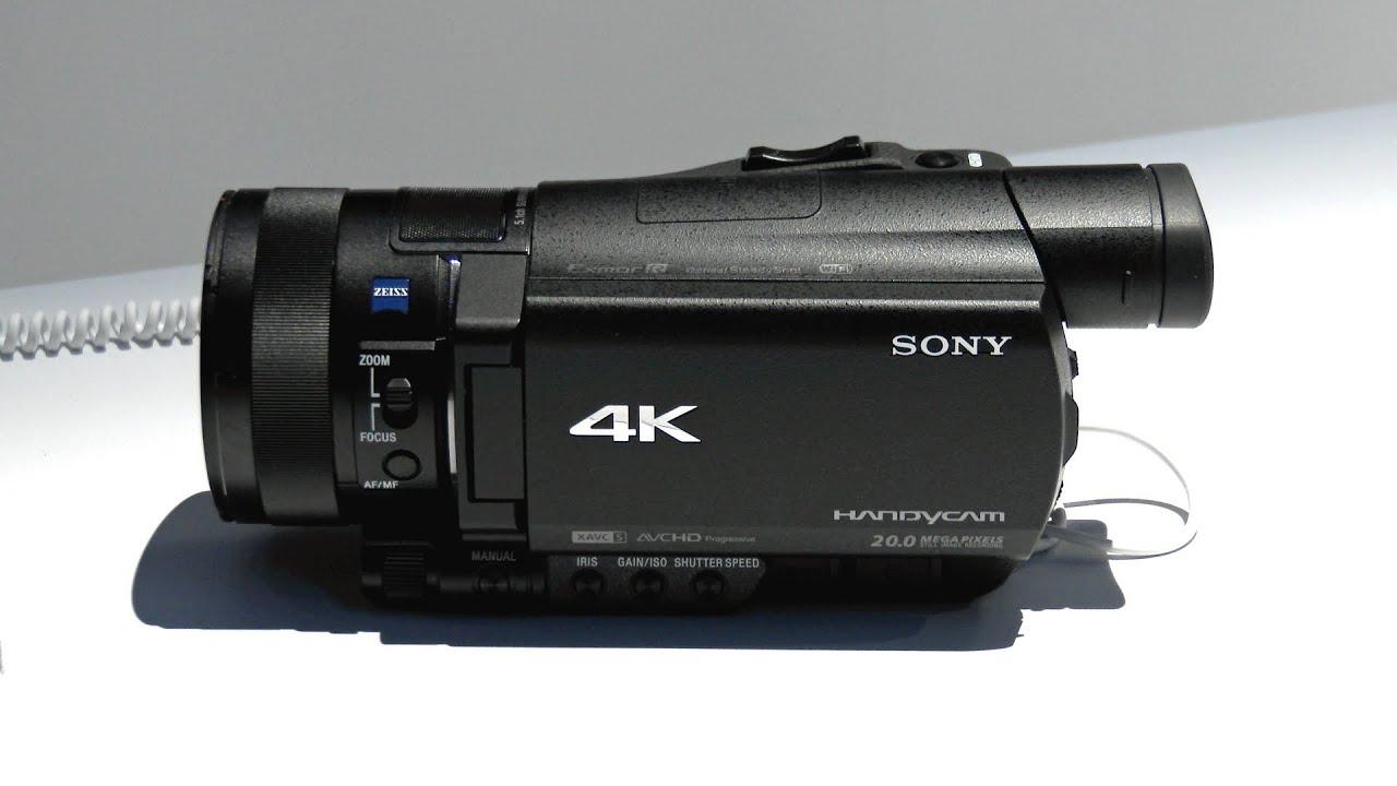 sony 4k video camera. sony 4k video camera o