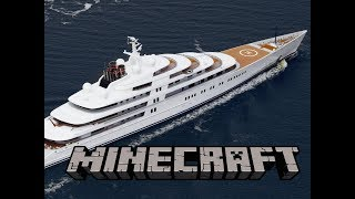Superyacht Built In Minecraft