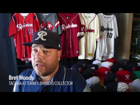 He's got Rainiers gear for every occasion